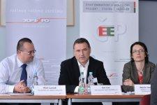 Jan Los, obchodní ředitel, CISCO SYSTEMS s.r.o., během diskuse